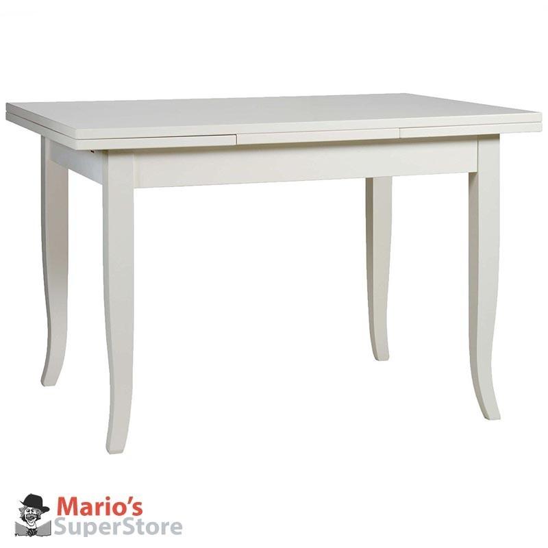 Tavolo allungabile bianco noce ciliegio cucina sala arte povera sedie - Tavolo ovale allungabile arte povera ...