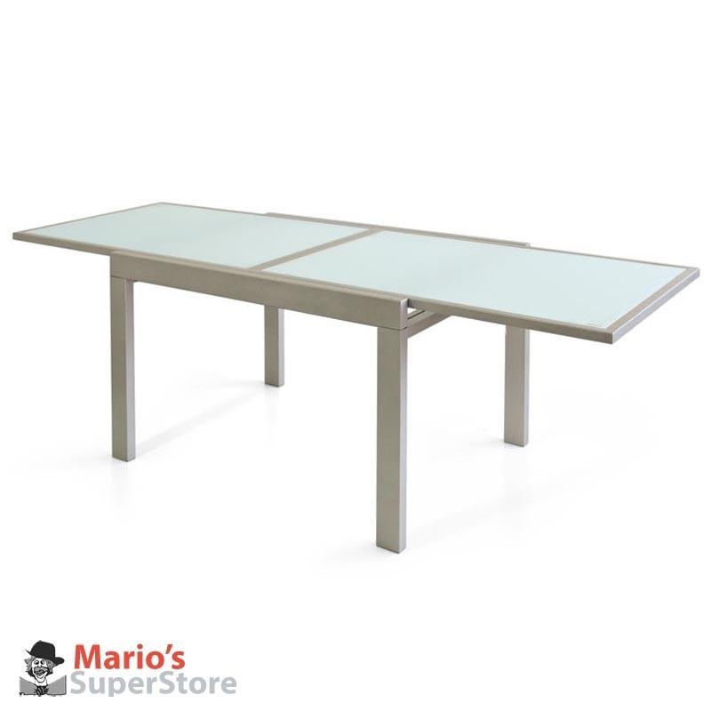 Tavolo Cucina Allungabile Vetro.Tavolo Metallo 90x120 Allungabile Vetro Sala Cucina Tavoli Sedie